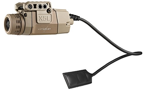 Viridian Universal Mount Red Laser Sight w/ Tactical Light (160/190 Lumens) featuring ECR