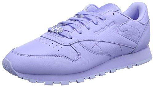 Reebok Classique Cuir L, Damen Chaussure Faible Dessus Violet (lueur Grain-lilas / M