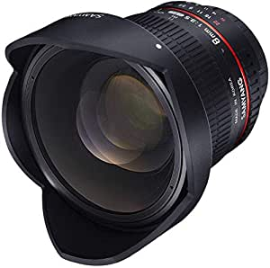 SAMYANG 8 mm f/3.5 UMC CS II fisheye lens - for Canon: Amazon.es ...