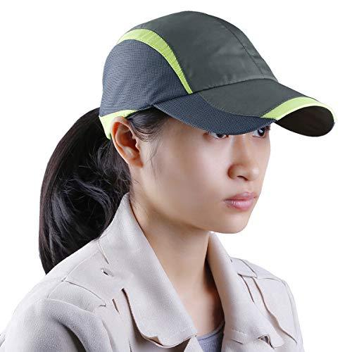 Samtree Unisex Sun Hat,Ultra Thin Quick Dry Lightweight Summer Sport Running Baseball Cap(012-Green)