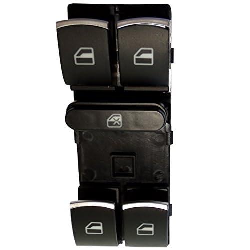 Aerzetix: Commodo interrupteur bouton lève-vitres compatible 5ND959857 C16199