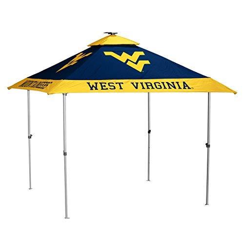 Logo Brands NCAA West Virginia Mountaineers Unisex Pagoda Tent Navy One Size [並行輸入品]   B07JZWTRCS