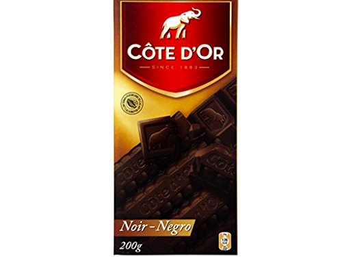 Cote D'Or 200 Grams - 7.05 oz of delicious Belgian Dark chocolate