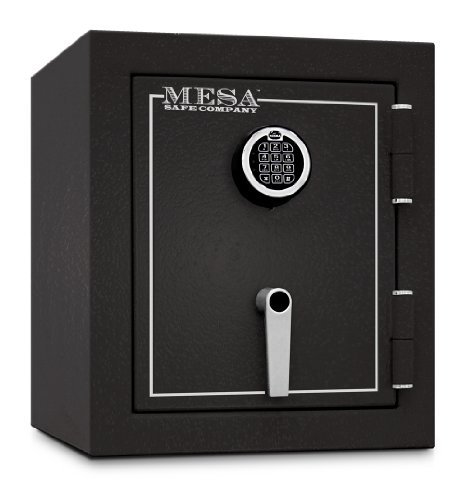 Electronic Burglary Safe (Mesa Safe Company Model MBF1512E Burglary and Fire Safe with Electronic Lock, Hammered)