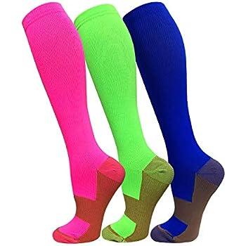 Amazon Com Graduated Compression Socks For Men Amp Women