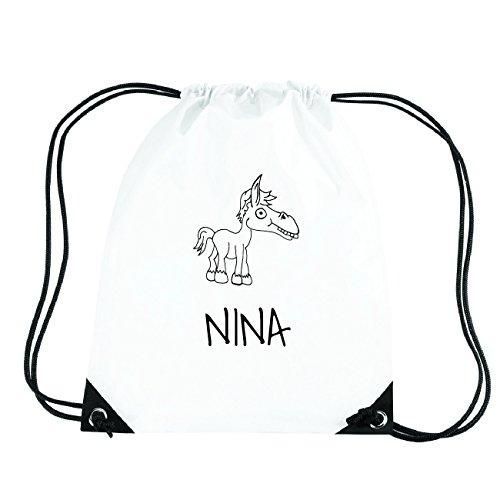 JOllipets NINA Turnbeutel Sport Tasche PGYM5824 Design: Pferd CtC49p57