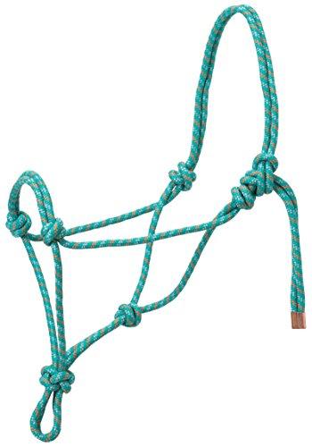 Double Halter Diamond (Weaver Leather Diamond Braid Rope Halter)