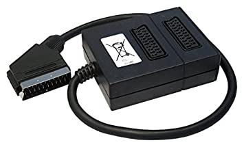 Brilliant Cdl Micro 2 Way Scart Cable Box Signal Splitter For Tv Amazon Co Uk Wiring Digital Resources Helishebarightsorg