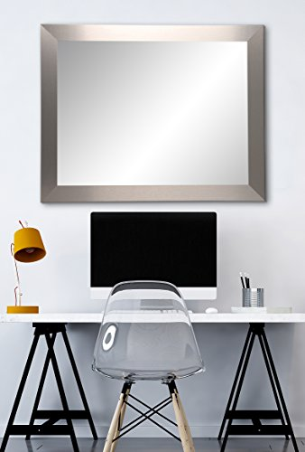 BrandtWorks AZBM078M2 Mirror, 32 x 36, Brushed -