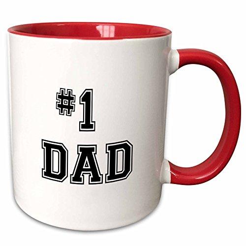 number 1 dad mug - 9