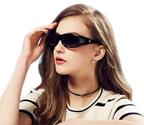 Wear Over Glasses Sunglasses - Polarized - Fit Over Prescription Glasses UV Protection Sunglasses