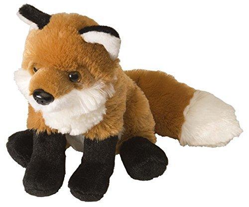 Wild Republic Red Fox Plush, Stuffed Animal, Plush Toy, Gifts For Kids, Cuddlekins 8 Inches -