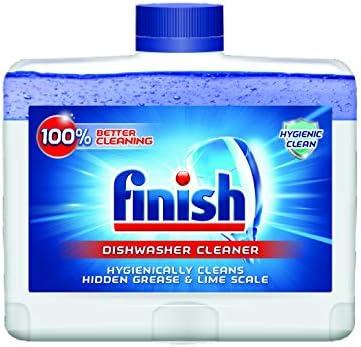 Finish Dishwasher Cleaner Solution Liquid product image