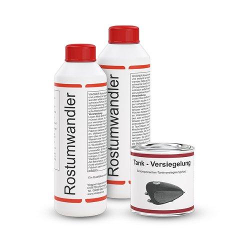 WAGNER Kit de traitement pour ré servoirs de motos (Volume 30 Litres) - 071003 WAGNER Spezialschmierstoffe GmbH & Co. KG