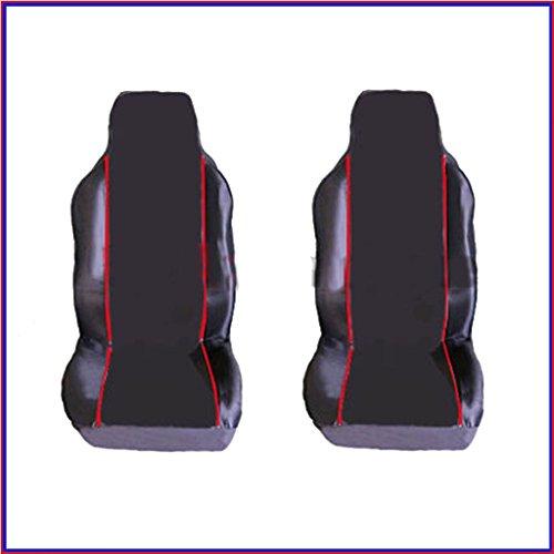 RENAULT MEGANE CC 2002-2010 PREMIUM FABRIC SEAT COVERS Blue PIPING 1+1