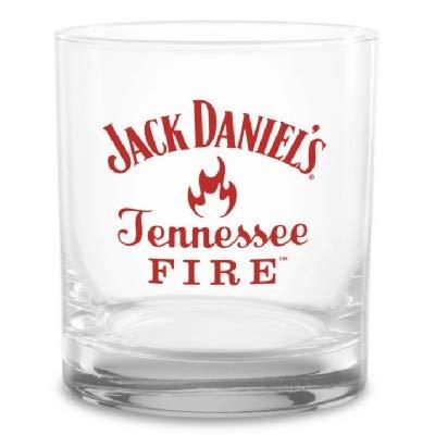 Jack Daniels Tennessee Fire Rocks Glass