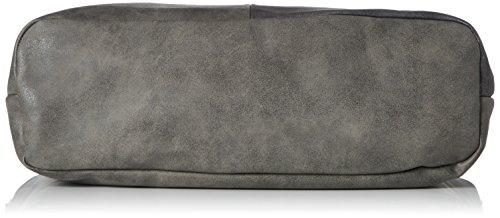 s.Oliver (Bags) - 39.710.94.6023, Bolsos maletín Mujer, Braun (Umbra), 12x25x43 cm (B x H T)