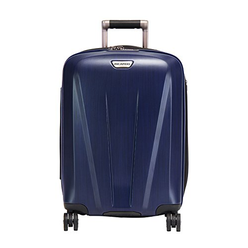 Ricardo Beverly Hills Rio Dell 21-inch Wheelaboard Luggage, Black Cherry