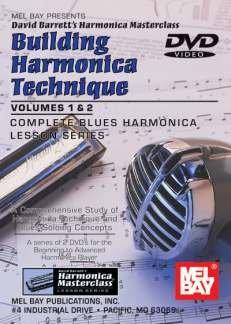Building Harmonica Technique Volume 1  Level 2, Complete Blues Harmonica Lesson Series [VHS]