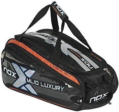 Nox Luxury Plata Paletero para Padel, Negro y Plateado, 60 x 27 x ...