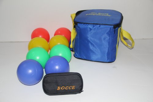 Bocce package - Glow in Dark Light Up set and 33mm Mini Bocce Set [Misc.] by BuyBocceBalls