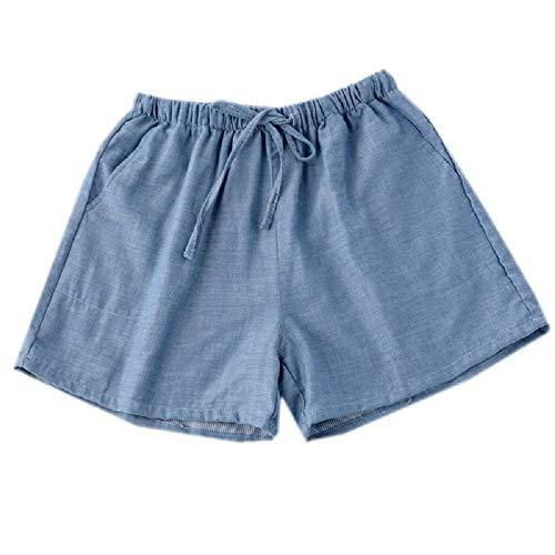 Notte Da Mmllse Estate Donna Photo Color Pantaloni Pantaloncini Spiaggia Paio Pantaloni Da Larghi Per TpaqFY