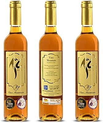 Vino Pedro Ximenez Bodegas José Molina de Colmenar | Vino Dulce | Estuche de Vino 3 Botellas | Botellas de Vino Blanco | Vino Natural | Vino Dulce Malaga: Amazon.es: Alimentación y bebidas