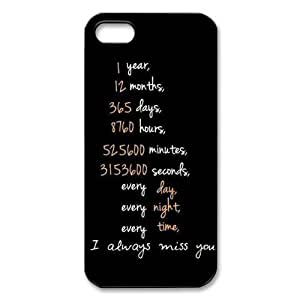Friendship Forever iPhone 5 Phone Case Hard Shell Cover for iPhone 5S - 5S Cases by icecream design