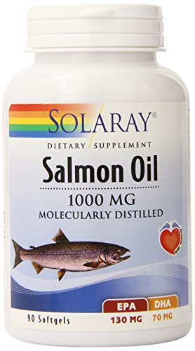 Solaray Salmon Oil, 1000 mg, 90 Count For Sale