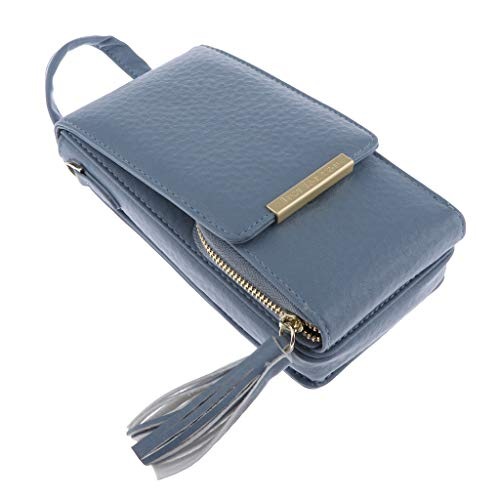 Bag Small Blue Prettyia Cell Womens Shoulder Purse Crossbody Wallet Phone Pouch gAwSqg