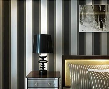 Papier Peint Intisse Moderne Minimaliste Design Rayures