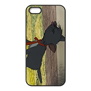 The Aristocats Character Berlioz iPhone 5 5s Cell Phone Case Black V2H6BH