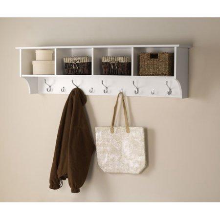 Prepac Hanging Entryway Wall Shelf, 60
