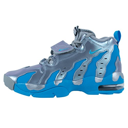 NIKE Air DT Max 96 Men's Shoes Metallic Silver/Vivid Blue-Black 616502-004 Metallic Silver/Vivid Blue-black original cheap online 9yuybFUg2f