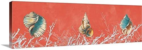 Coral Panel I Canvas Wall Art Print
