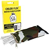 Chlor-Floc US Military Water Purification Powder Packets