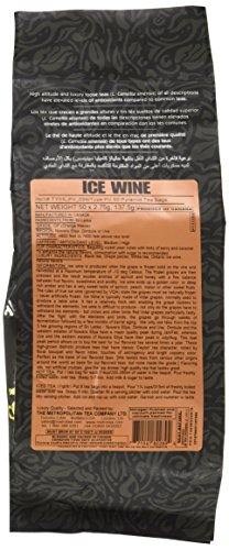 Canada Ice Wine (Metropolitan Tea 50 Count Pyramid Shaped Teabags, Ice Wine)