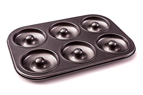 Donut Pan - Premium 6 Cup Non-Stick Donut & Bagel
