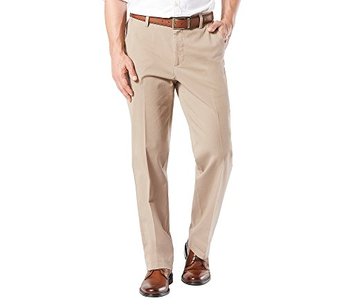 (Dockers Men's Big and Tall Big & Tall Classic Fit Workday Khaki Smart 360 Flex Pants D3, Safari Beige (Stretch) - Tan, 46W x 30L)