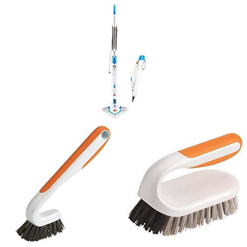 Bissell PowerEdge Lift Off Hard Wood Floor Cleaner, Tile Cleaner with Heavy Duty Shower Kitchen Bathroom deep Clean Grout Brush and Heavy Duty Household Ktichen Bathroom Scrub Brush.