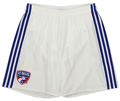 - adidas Men's MLS Adizero Team Replica Short, FC Dallas- White Medium