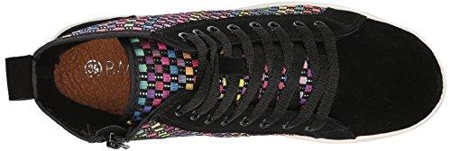 Bernie Mev Classics Fashion Sneaker Black / Multi Voor Dames