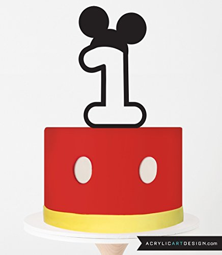 Astonishing Mickey Mouse Cake Toppers Shop Mickey Mouse Cake Toppers Online Personalised Birthday Cards Petedlily Jamesorg
