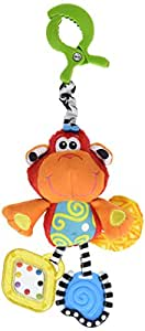 Playgro 0182854 Dingly Dangly Curly the Monkey Baby Toy