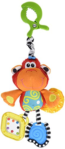 Price comparison product image PLAYGRO BABY DINGLY DANGLY- CURLY THE MONKEY