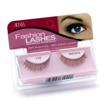 db4abc5c953 Amazon.com : Ardell Fashion Lashes #110 Black (Case of 6) : Fake Eyelashes  And Adhesives : Beauty