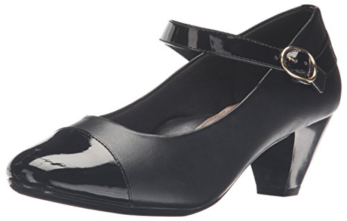 Patent Hush Puppies Women's by Dress Black Geena Pump Style Soft Vitello Black gPEx77