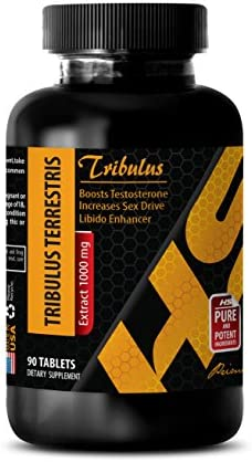 muscle enhancer for men – PREMIUM TRIBULUS TERRESTRIS EXTRACT 1000 Mg – Tribulus terrestris extract powder – 1 Bottle 90 Tablets