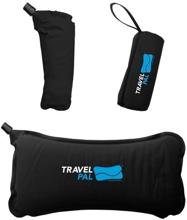 Healthy Back Travel Pal Self Inflating Lumbar Support Pillow