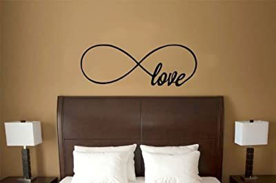 Love Infinity Symbol Vinyl Wall Decal Sticker Art